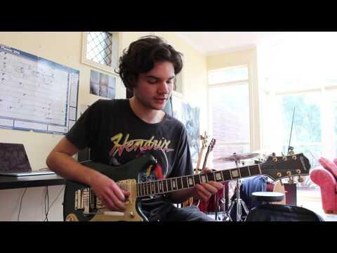 frank ocean - self control - guitar tutorial