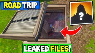 Fortnite: ROAD TRIP SKIN LEAKED INFORMATION! - Lamentation s'en ameinr Woods Bunker Files Found! Saison 5 Storyline!