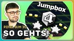 JumpBox so schafft man es LEICHT!   Pixel Gun 3D