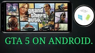 how to run gta 5 on android with the help of pc