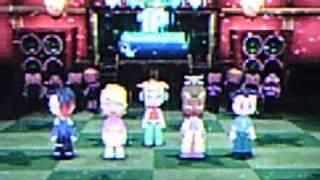 MySims Party Wii Go Go Dancing as Goth Boy