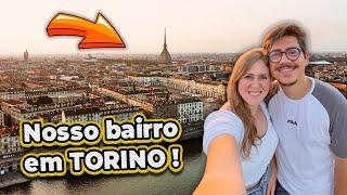 VOCÊS IRÃO SE SURPREENDER COM ESSA CIDADE + TOUR PELO BAIRRO EM TORINO