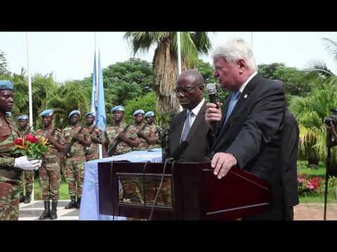 UN Peacekeeping Forces Bury Nine Comrades Fallen In Mali