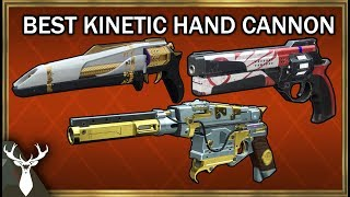 Destiny 2 - What is the Best Kinetic Hand Cannon? (PvE and PvP Tier List)