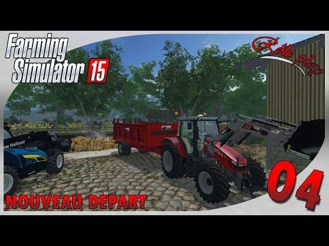 Farming Simulator 15 | Nouveau départ #4 Transport de fumier [RP]