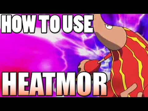 Heatmor Pokemon Guide Thing...