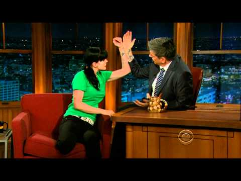 Pauley Perrette on the Late Late  with Craig Ferguson