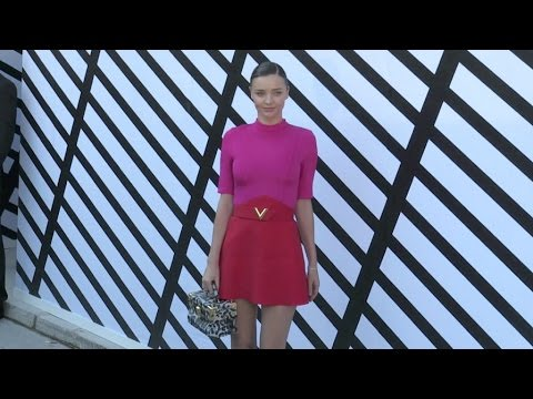 Miranda Kerr and more at the Louis Vuitton Ready to Wear Fashion Show