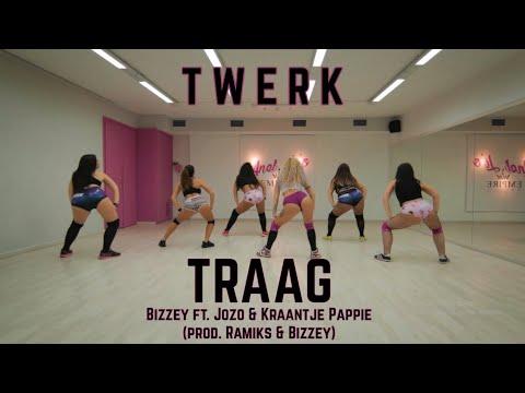 Traag- Bizzey ft. Jozo \u0026 Kraantje Pappie by Anel Li |Twerk Stars Team|