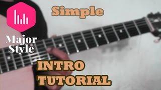 Video Armada -Asal Kau Bahagia Simple Intro Tutorial download MP3, 3GP, MP4, WEBM, AVI, FLV Januari 2018