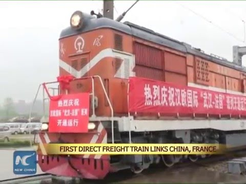 First direct freight train linking China, France starts operation
