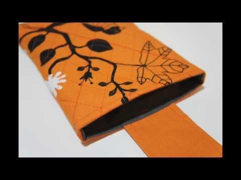 iPad sleeve sewing tutorial & printable pattern