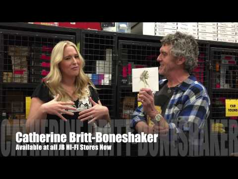 JB HI-FI Music TV. The Catherine Britt Boneshaker Interview episode