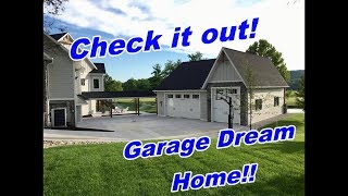 Dream Garage Home - The Real Deal!