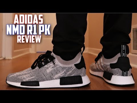 "Adidas NMD R1 Primeknit ""OREO"" 2019 Review and On-Feet!"