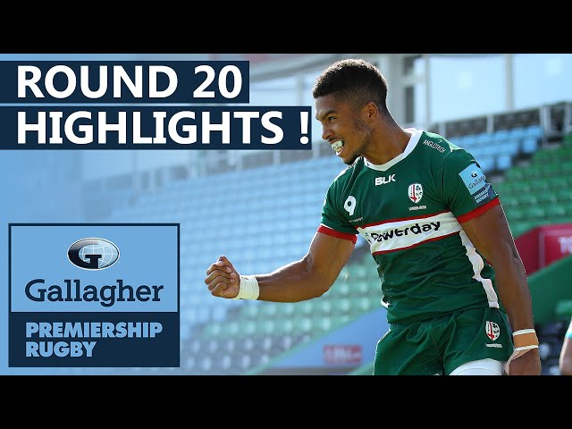 Round 20 Extended HIGHLIGHTS | Young Guns & Old Rivalries!  | Gallagher Premiership 2019/20