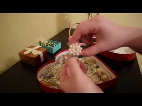 ASMR Brooch Bouquet (Part 1: Tapping, Scratching, Whispers)