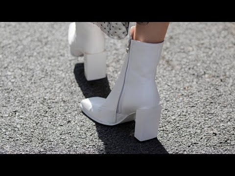 Instagram's Fashion Pro Eva Chen On 2018 Shoe Trends: Dad Sneakers, Glitter + White Boots