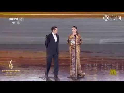 Johnny Depp and Juliette Binoche in Hainan