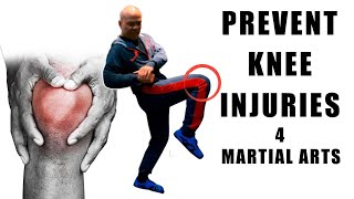 How to prevent knee injuries in Martial Arts