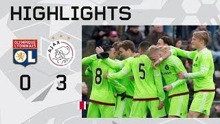 Highlights Olympique Lyon - Ajax A1 (Youth League)