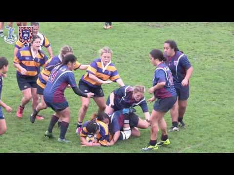 Rugby 1st XV - Tauranga Girls Vs Rotorua Girls