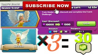 Clash Of Clans | How to Complete Healer Event ?! | 2017 Upcoming Event | Hindi | Clash With Bhargav