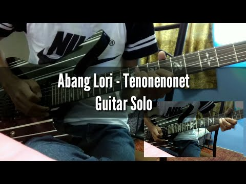Harry - Abang Lori Tenonenonet (Guitar Solo Cover) by Soleyhanz