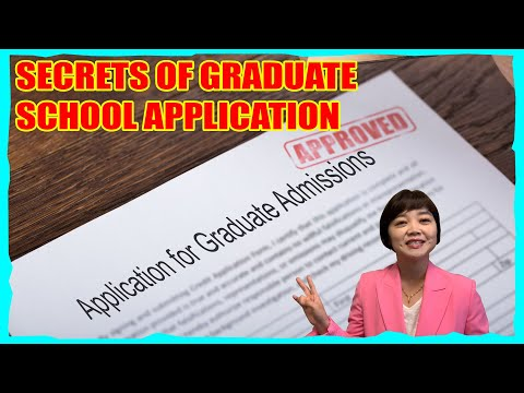 🔑🔑-two-secrets-of-graduate-school-application-🤐🤐