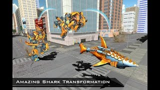 Transforming Robot Shark – Robot Transformation | Android Gameplay