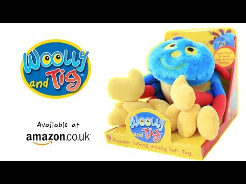 Woolly and Tig - Poseable Talking Woolly Soft Toy | Available at Amazon