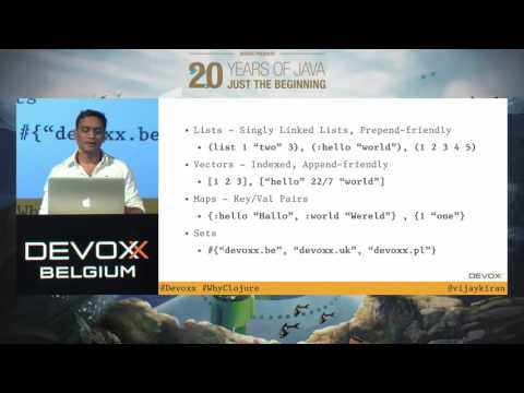 Why Clojure?  by Vijay Kiran