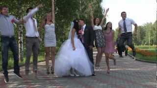 Прикольный свадебный клип - трейлер Паха + Лена Морозовы