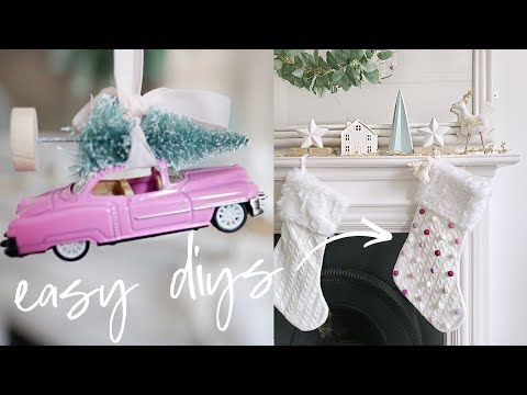 Easy DIY Christmas Decorations and Hacks | Christmas Home Decor 2018