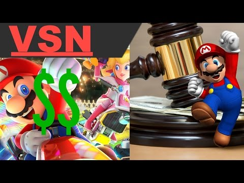 Nintendo Wins Patent Infringement Lawsuit, Mario Kart 8 Deluxe Sells 459,000 Copies