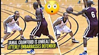 Jamal Crawford CRAZY Ball Fake HUMILIATES Defender!!! Shows Off INSANE Handles w/ Blake Griffin!
