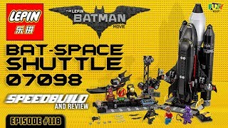 ATN #118 - Lepin 07098 Bat-Space Shuttle Speedbuild/Review [FUNY ROOT]