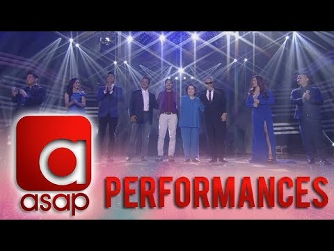 ASAP: OPM music icons Gary V, Ogie, Sarah G, Angeline & Martin perform FPJ Ang Probinsyano's song