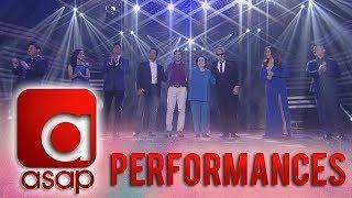 ASAP: OPM music icons Gary V, Ogie, Sarah G, Angeline & Martin perform FPJ Ang Probinsyano's song