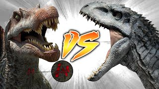 Ingen Spinosaurus VS Indominus Rex [Who Would Win?]