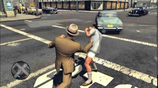 L.A. Noire - How to save the crazy guy in Cosmic Rays