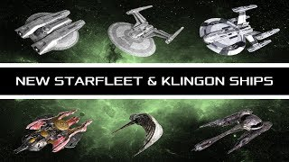Star Trek: New Federation and Klingon Ships Revealed