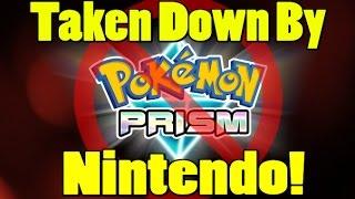 nintendo dmcas pokemon prism mere days before release
