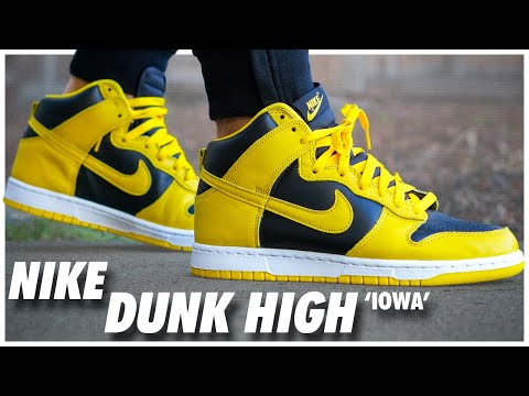 Nike Dunk High Iowa 2020