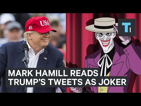 Thumbnail: Mark Hamill is reading Trump's tweets in his iconic Joker voice