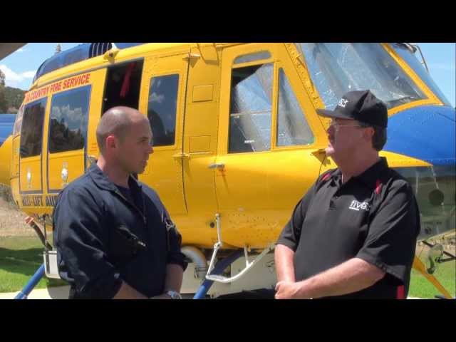 Bell 205s at Walk-Around with Kevin McCormick