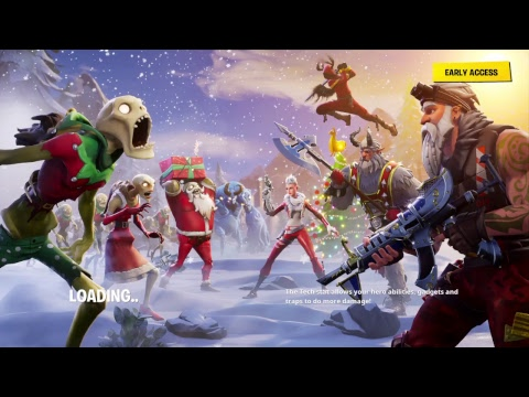 Fortnite Save the world with VA Angel