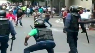 Mesa Redonda: Ambulantes y carretilleros lanzaron ácido muriático a serenos