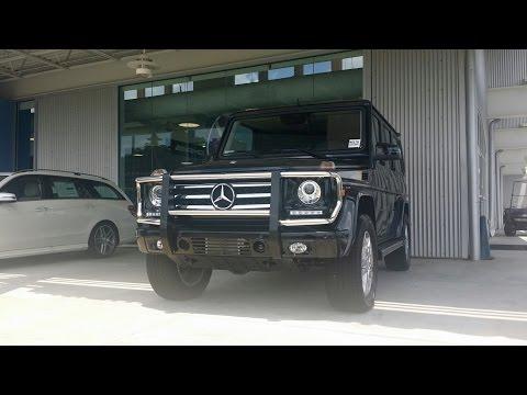 2015 Mercedes Benz G550 Review