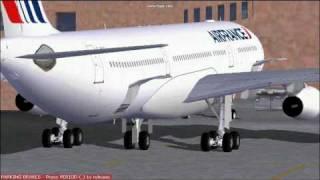 Air France A-340 New York - Paris (FS2004)